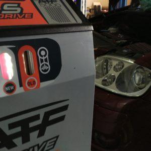 dynamiczna wymiana oleju w automatycznej skrzyni biegów